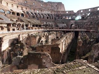 Image of Colosseum near Roma Capitale. trip20170208 rzym roma muzeumwatykańskie colosseum geo:lon=12491833 geo:lat=41890200