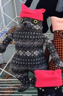 Grey pussy hat kitty