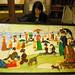 "Gold Bears - ""A Sunday on La Grande Jatte"" by Melissa Rachel Black"