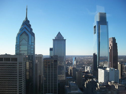 Philadelphia Skyline from City Hall