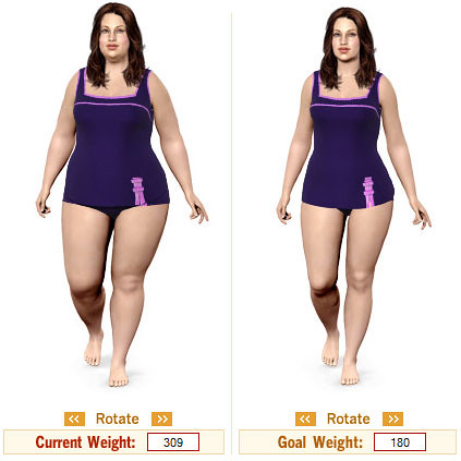 weight-loss-simulator