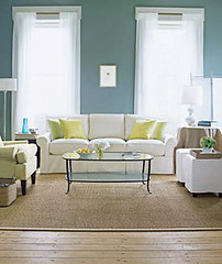 Soothing Blue Living Room
