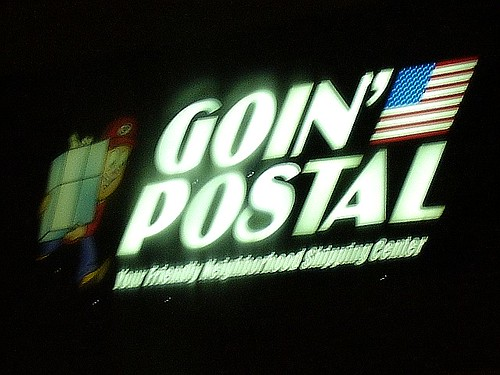 Noticings - Goin' Postal In The Rain