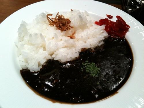 Toyokenの有名なブラックカレー  Mmmmmm… Black!