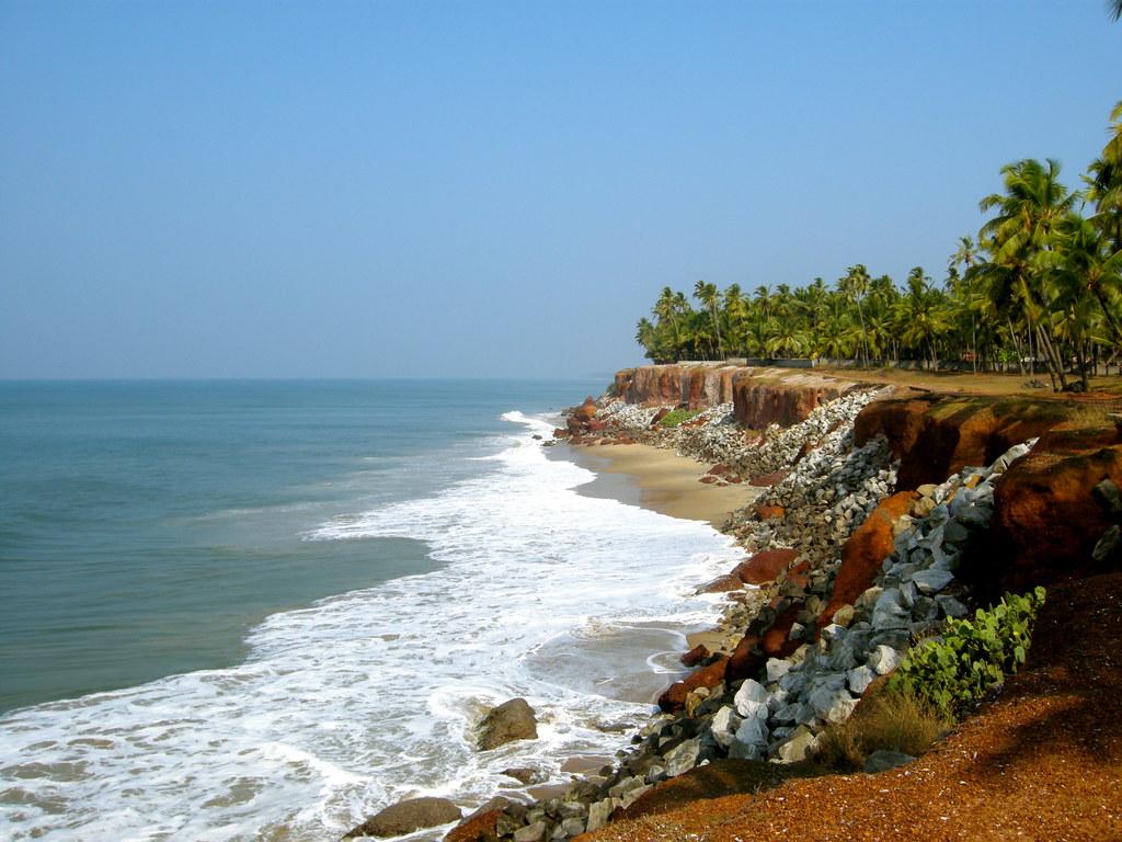 пляж Варкала индия