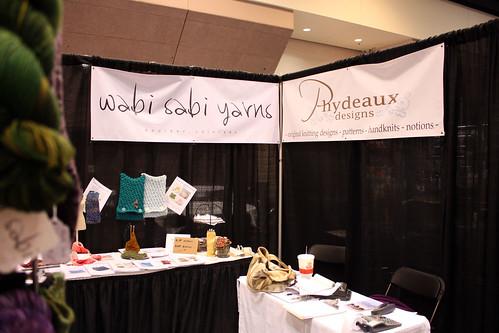 Stitches West 2010:  Phydeaux Designs & Wabi Sabi Yarns