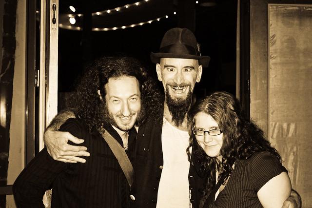 Tony & Jhayne w. Drew aka Schmootzi the Clod
