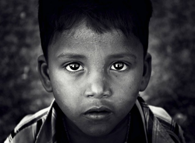 Eyes of a child...