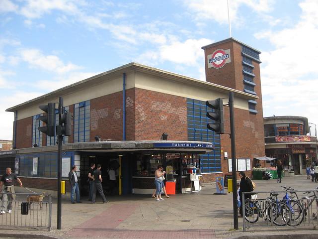 turnpike lane tube station london flickr photo sharing. Black Bedroom Furniture Sets. Home Design Ideas