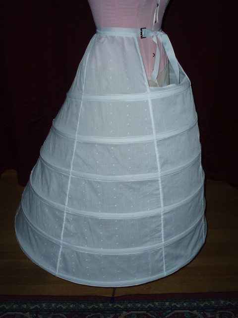 Hoop Skirt Pattern http://www.flickr.com/photos/7181690@N03/4475767828/