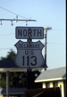 19880623 18 Highway signs, Milford, DE