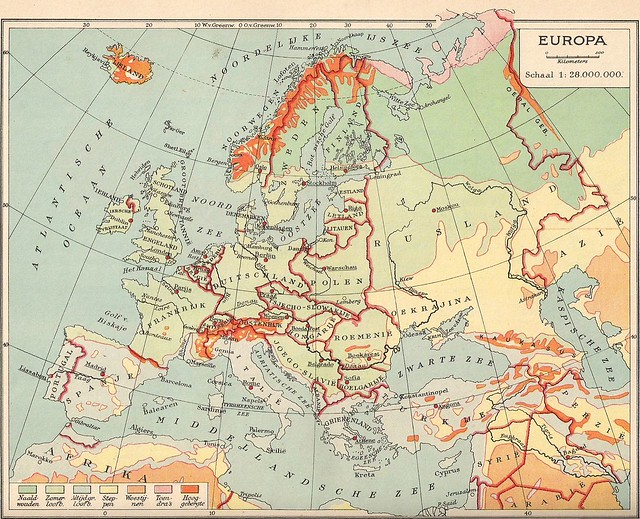 Map of Europe 1936 - Flickr CC uair01