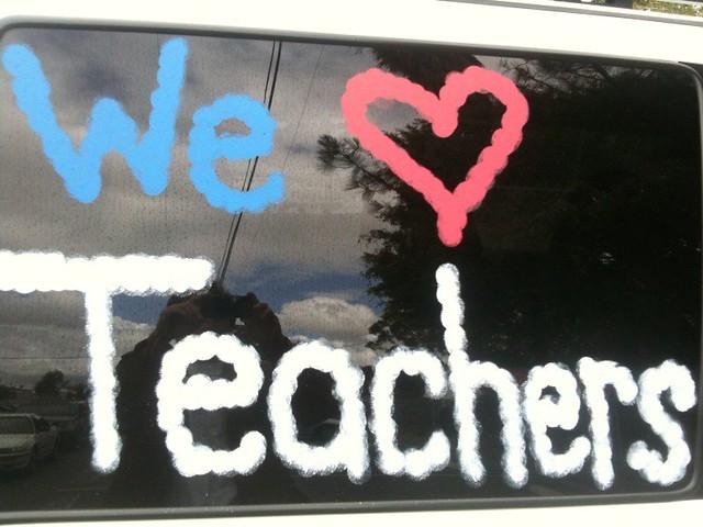 Teacher Strike! Argh... from Flickr via Wylio