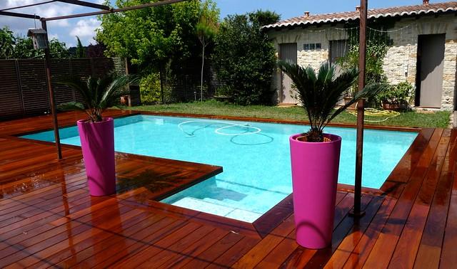 Terrasse bois ipé piscine margelles ipe (Cabriès) 13 Bouches du