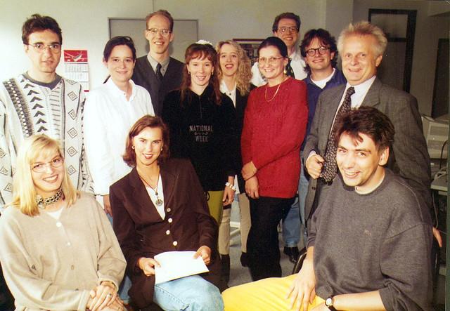 Team von news aktuell 1996