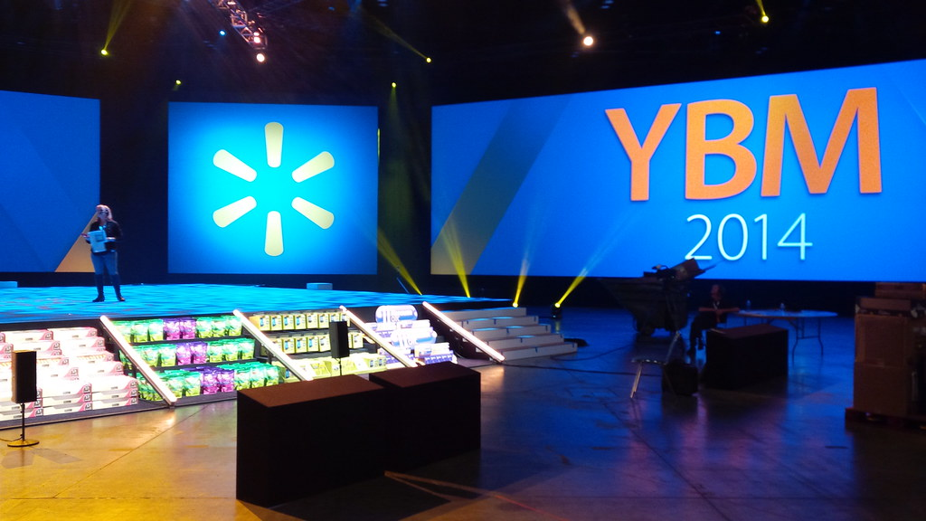 Walmart YBM Meeting | Corporate meeting for the world's larg