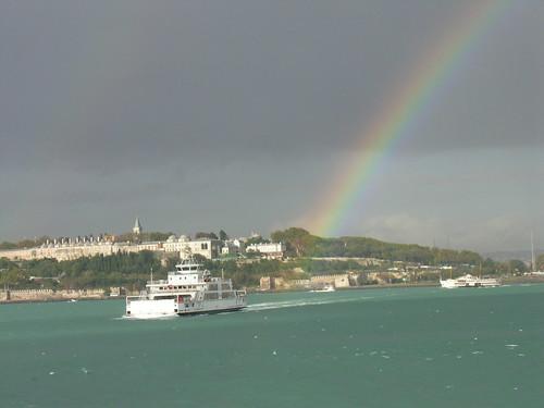 Rainbow in Istanbul