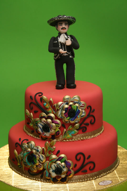 mexican birthday cake mexican cake torta mariachi vicente fernandez a photo 5851