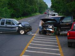driving(0.0), traffic(0.0), car park(0.0), parking(0.0), pedestrian(0.0), accident(1.0), automobile(1.0), asphalt(1.0), traffic collision(1.0), vehicle(1.0), transport(1.0), mode of transport(1.0), road(1.0), lane(1.0), motor vehicle(1.0),