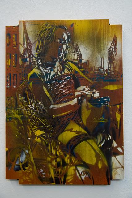 Artiste Ouvrier - Stencil Art | Flickr - Photo Sharing! Street