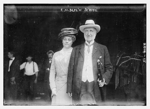C.M. Depew & wife  (LOC)