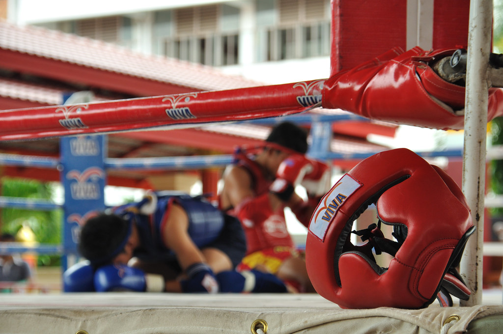 Thai boxing preparations