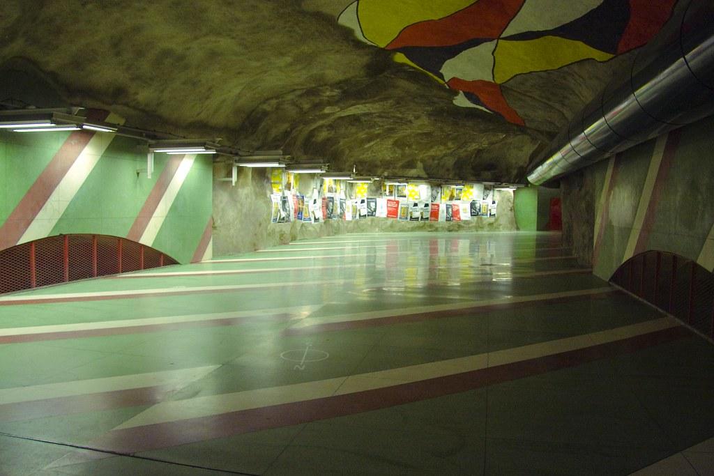 Subway, Stockholm