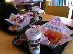 Lunch at Taco Cabana