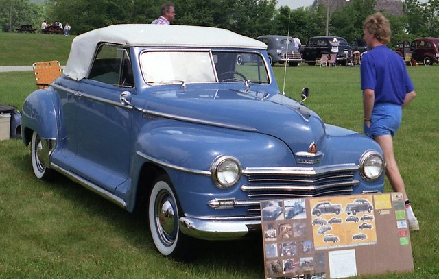 1947 Plymouth Special Deluxe Convertible Flickr Photo