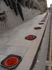 Sunken Traffic Cones