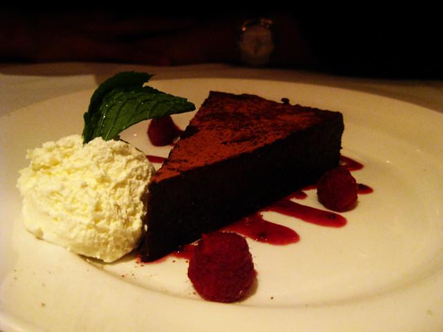 Capital Grille Flourless Chocolate Cake Nutrition