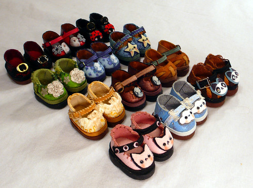 Tiny BJD Shoes