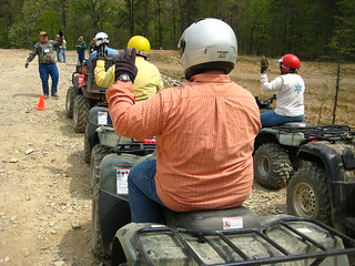 Picture of a group participating in ATV Training