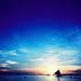 Boracay sunset by boredbone