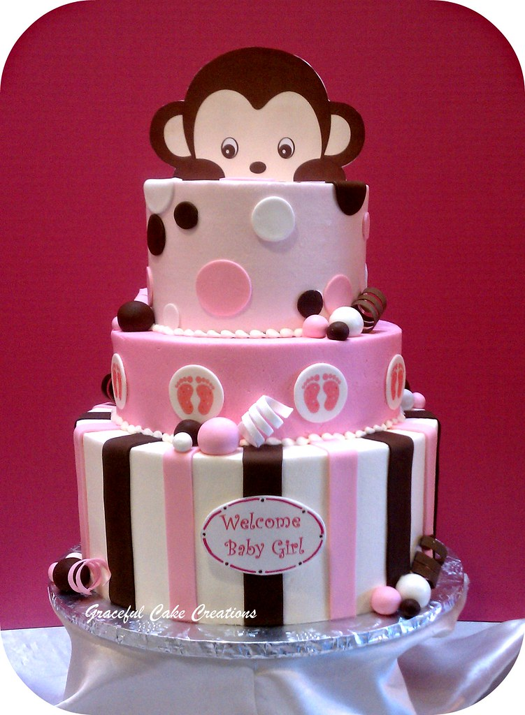 Funky Baby Shower Cakes