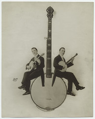[Banjo players.]