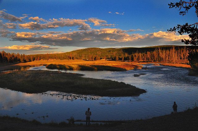 Evening Fishing on the Madison River