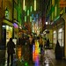 rainy evening in St Christopher's Place by hedgiecc