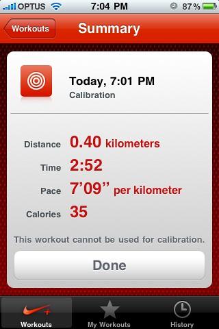 Calibrate Iphone  Screen