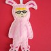 Ralphie in Bunny Suit Ornament by batzie09