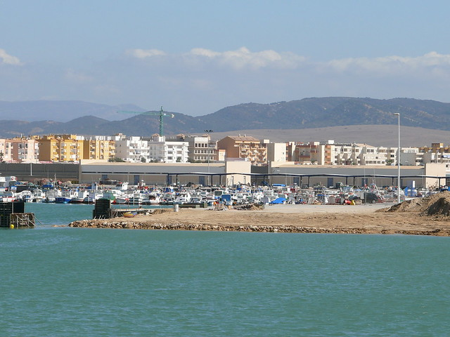 The marina, Barbate, Spain