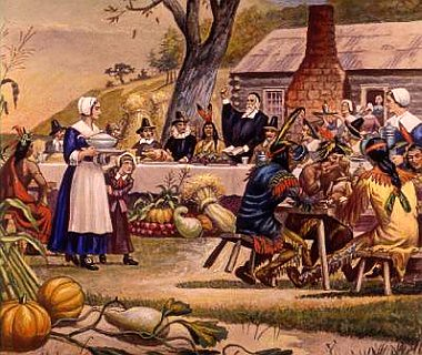 first-thanksgiving --- the REAL story