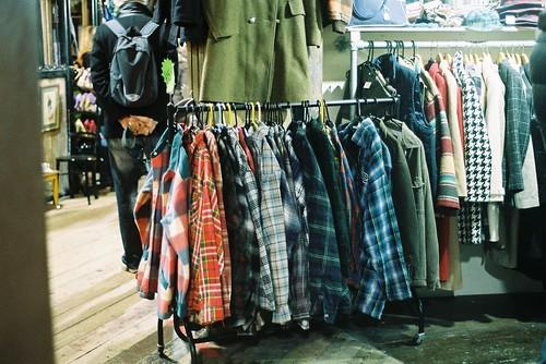 plaid shirts in Camden Town