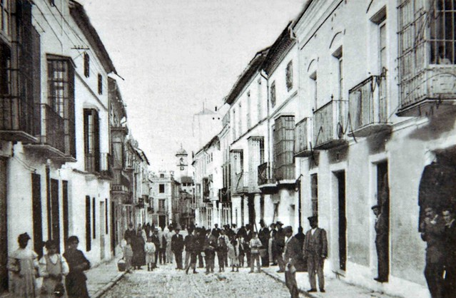 Calle Álamos años 20