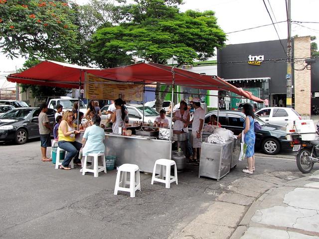 Brazília, utcai étkezde