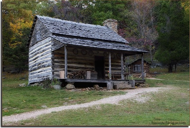 800 39 S Log Cabin Blue Ridge Parkway Nc Flickr Photo