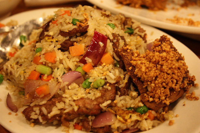 Salted fish fried rice for Fish fried rice