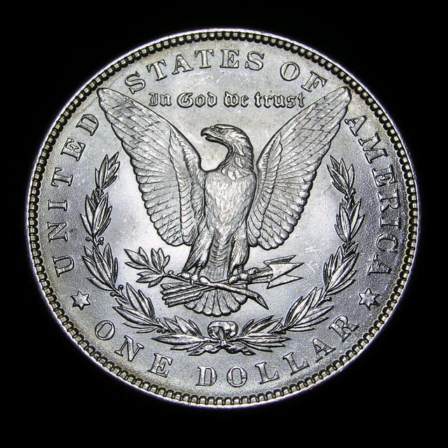 1889 Morgan Dollar Reverse Flickr Photo Sharing