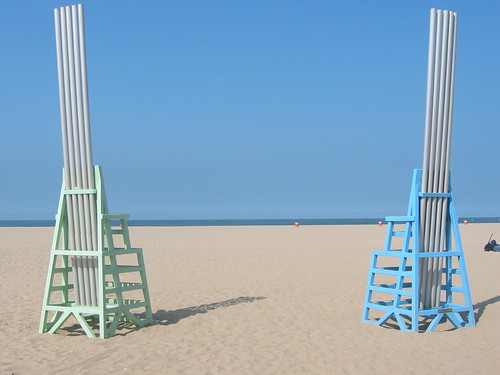 Santa Monica Beach Art by cbucka21, on Flickr