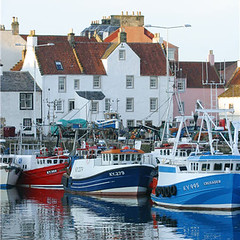 Pittenweem harbour, Fife